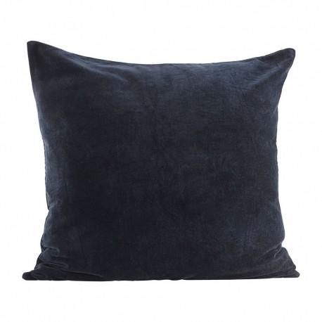 Housse de coussin velours bleu marine House Doctor Velv  60 x 60 cm