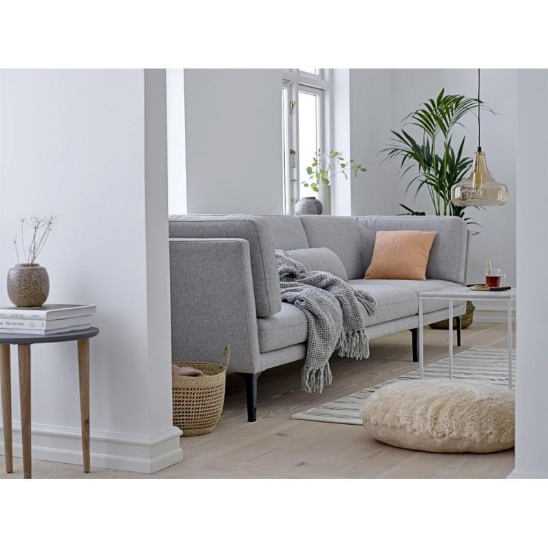 bloomingville set de 2 tables basses carrees gigognes marbre blanc. Black Bedroom Furniture Sets. Home Design Ideas