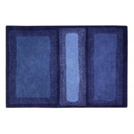 lorena canals tapis bleu electrique coton 140 x 200 cm water C-WATER-ABL