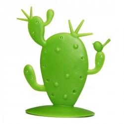 Porte boucles d'oreilles original cactus vert Pierce Koziol