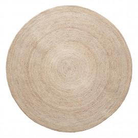 hubsch tapis rond en jute naturelle 150 cm 190601