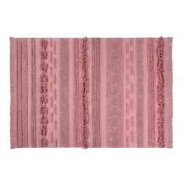 Tapis coton rose Air Lorena Canals