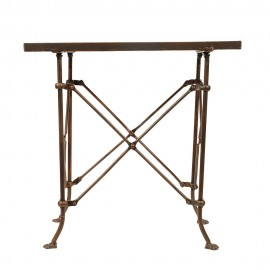 bloomingville terrain table basse d appoint retro vintage metal