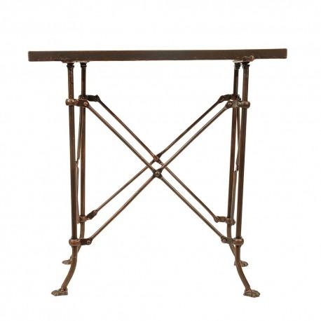 bloomingville terrain table basse d appoint retro vintage metal ...