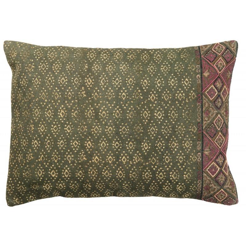 ib laursen housse de coussin tisse main gris taupe berry. Black Bedroom Furniture Sets. Home Design Ideas