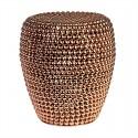 pols potten dot tabouret metal cuivre 300-030-031