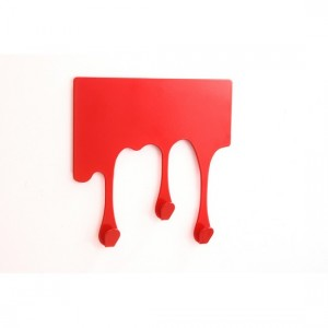 patere-rouge-design-adhesive-drop-xs-pulpo