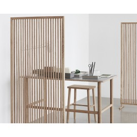 hubsch tabouret en bois chene epure design 880514