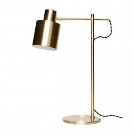 Lampe de bureau design laiton Hübsch