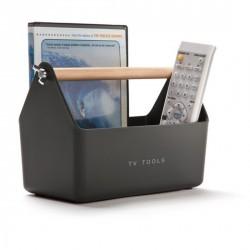 Range télécommandes déco tv tools gris