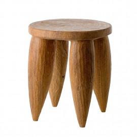 pols potten senofo tabouret bois sculpe a la main 500-030-002