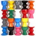 pols potten tabouret zig zag noir design 510-070-014