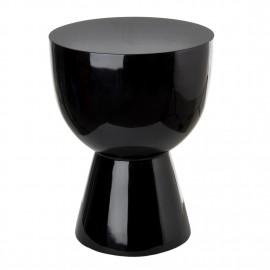 tabouret tam tam pols potten noir laque 510-070-010