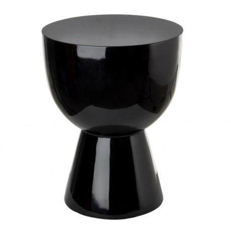 tabouret tam tam pols potten noir laque 510 070 010. Black Bedroom Furniture Sets. Home Design Ideas