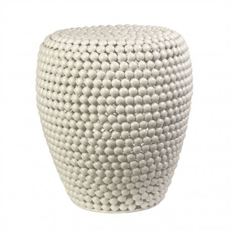 tabouret dot pols potten blanc 300-030-021
