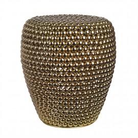 pols potten dot tabouret metal dore laiton 300-030-060