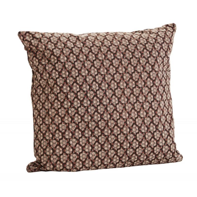 madam stoltz housse de coussin motifs ethnique chic terracota. Black Bedroom Furniture Sets. Home Design Ideas