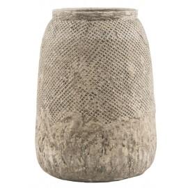 vase en beton net pattern ib laursen hanoi