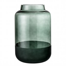 Vase design verre Bloomingville Green
