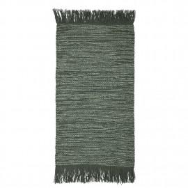bloomingville tapis vert descente de lit laine 32703175