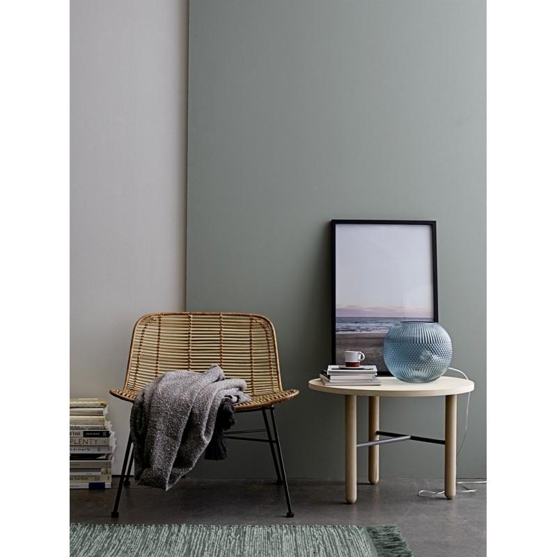 bloomingville tapis vert descente de lit laine 32703175. Black Bedroom Furniture Sets. Home Design Ideas
