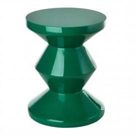 pols potten zig zag tabouret design vert emeraude 510-070-069