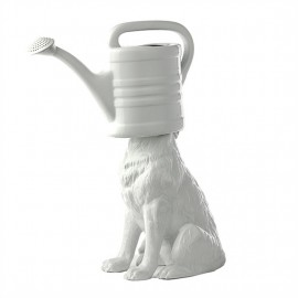 Vase design blanc porcelaine Pols Potten Wolf Watering Can