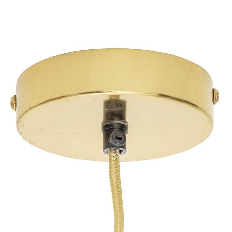 bloomingville suspension en maille fil de fer dore. Black Bedroom Furniture Sets. Home Design Ideas