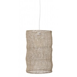 bloomingville suspension en maille de jute naturelle 46006841