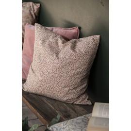 ib laursen housse de coussin carree petites fleurs rose rouge 1905-33