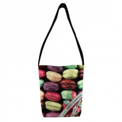 SAC MACARONS BONJOUR MON COUSSIN EXQUISE