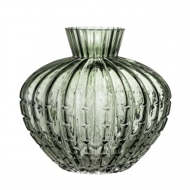 bloomingville glass vase verre vert 30705678