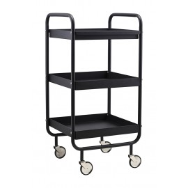 house doctor trolley roll desserte a roulettes industrielle metal
