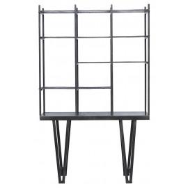 Étagère design métallique style industriel noir House Doctor Rawi