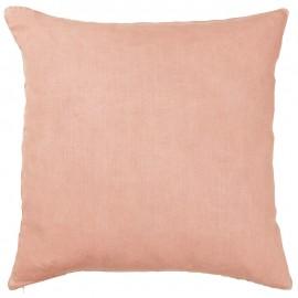 ib laursen housse de coussin lin rose poudre 50 x 50 cm