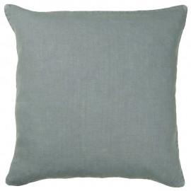 ib laursen housse de coussin lin bleu poudre 50 x 50 cm