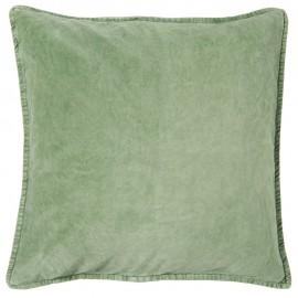 ib laursen coussin carre 50 x 50 cm velours vert menthe 6230-81