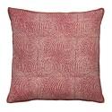 bungalow denmark housse de coussin soie rouge zen 50 x 50 cm