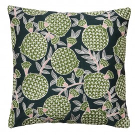 bungalow denmark housse de coussin broderie vert Pomegranate Fern 50 x 50 cm