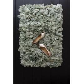 bungalow denmark tapis chiffon chutes de tissu recycle descente de lit