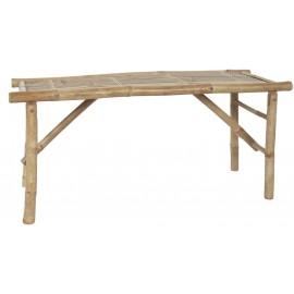 Banc rustique bois de bambou IB Laursen