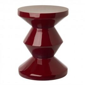 Tabouret design Pols Potten Zig Zag rouge