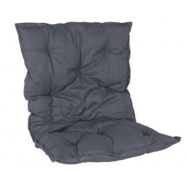coussin matelas pour fauteuil en rotin ib laursen bleu 6500-13