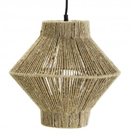 madam stoltz suspension style boheme en jute naturel
