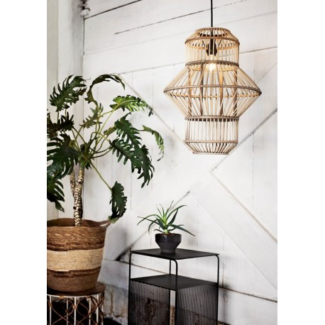 madam stoltz suspension bambou style lanterne japonaise