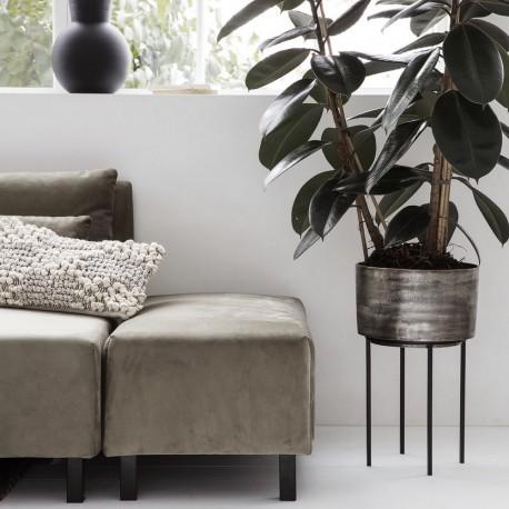 Support pour plantes sur pied métal oxydé House Doctor Kazi