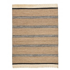 Tapis naturel jonc de mer rayures House Doctor Beach