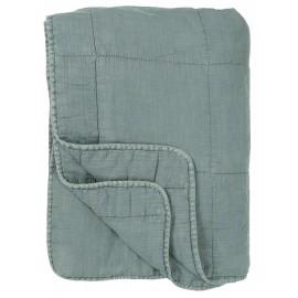 Couverture matelassée coton IB Laursen bleu