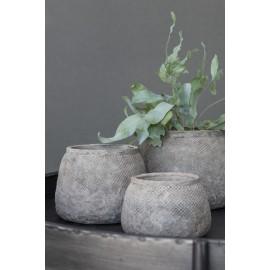 ib laursen pot en beton brut motif hanoi