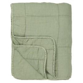 ib laursen courtepointe unie vert menthe delave 130 x 180 cm